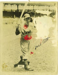 Autographs:Photos, Early 1940's Mel Ott Signed Photograph. We'll jump to theconclusion that the stellar 10/10 bold black fountain pensignatu...