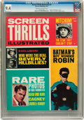 Magazines:Vintage, Screen Thrills Illustrated #5 (Warren, 1963) CGC NM 9.4 Cream tooff-white pages....