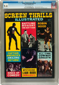 Magazines:Vintage, Screen Thrills Illustrated #7 (Warren, 1964) CGC NM 9.4 Cream tooff-white pages....