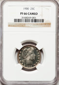 Proof Barber Quarters, 1900 25C PR66 Cameo NGC....