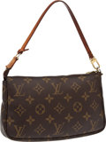 Luxury Accessories:Bags, Louis Vuitton Classic Monogram Pochette Bag. ...