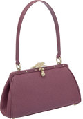Luxury Accessories:Bags, Kieselstein-Cord Lavender Bag with Toad & Ladybug Clasp. ...