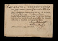 Colonial Notes:Connecticut, Connecticut Fiscal Paper Pay Table Office £5 December 26, 1781 VeryFine-Extremely Fine.. ...