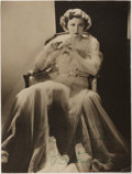 "Books:Americana & American History, Josephine Hutchinson (1903-1998, American Actress). Signed PortraitPhotograph. [N.p., n.d., ca. 1925]. Inscribed to ""Doroth..."