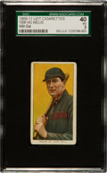 Baseball Cards:Singles (Pre-1930), 1909-11 T206 Uzit Vic Willis, With Bat SGC 40 VG 3....