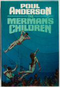 Books:Science Fiction & Fantasy, [Jerry Weist]. Poul Anderson. SIGNED. The Merman's Children. New York: Putnam's, [1979]. First edition. Signed by ...