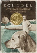 Books:Children's Books, William H. Armstrong. Sounder. New York: Harper & Row,[1969, actually later]. Reprint. Octavo. 116 pages. Publisher...