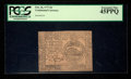 Colonial Notes:Continental Congress Issues, Continental Currency February 26, 1777 $4 PCGS Extremely Fine45PPQ.. ...