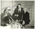 Autographs:Photos, 1954 Joe DiMaggio & Marilyn Monroe Signed Photograph. Those who followed the May 2006 Heritage Signature Sports auction wil...