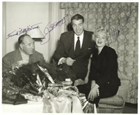 1954 Joe DiMaggio & Marilyn Monroe Signed Photograph. Those who followed the May 2006 Heritage Signature Sports auct...