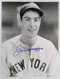 "Autographs:Photos, Hall of Famers Signed Photographs Lot of 30 with DiMaggio, Williams. Take 8x10"" photos of the biggest stars in the game, ad..."