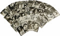 Autographs:Post Cards, Hall of Famers Signed Postcards Lot of 74. Dealers and collectors alike will find much to love in this lot that pairs terri...