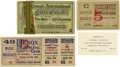 Boxing Collectibles:Memorabilia, 1890's Important Heavyweight Fight Tickets Lot of 3. Three significant Heavyweight tickets are featured in this lo,t plus a...