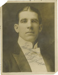 Boxing Collectibles:Autographs, Circa 1900 James J. Corbett Signed Studio Photograph. Spectacularportrait of the man who ended the reign of bare knuckle l...