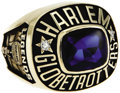 """Basketball Collectibles:Others, Marques Haynes Harlem Globetrotters """"Legends"""" Ring from the MarquesHaynes Collection. Presented to Marques Haynes on Januar..."""