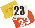 """Basketball Collectibles:Others, LeBron James Signed UDA Jerseys Lot of 3. The biggest thing to hit the NBA hardcourt since Jordan, this other number """"23"""" i... (Total: 3 )"""