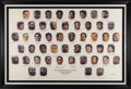 Basketball Collectibles:Others, National Basketball Association 50 Greatest Players SignedLithograph from Sam Jones. Unquestionably the most coveted singl...