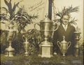 Golf Collectibles:Autographs, The Finest Bobby Jones Signed Photograph on Earth. If our lot title is inaccurate, we'd certainly like to see the proof to ...