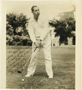 Golf Collectibles:Autographs, 1940's Walter Hagen Signed Photograph, PSA Mint 9. Only Tiger Woodsand Jack Nicklaus have topped Hagen's tally of eleven m...
