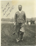 Golf Collectibles:Autographs, 1940's Craig Wood Signed Photograph, PSA Gem Mint 10. Despite two major Championships (the 1941 Masters and US Open), Wood ...