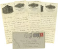 Football Collectibles:Others, 1924 Elmer Layden Handwritten Signed Letter. Lengthy six-page correspondence (three pages, front and back) is in the elegan...