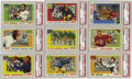 Football Cards:Sets, 1955 Topps All American Football Complete High-Grade Set (100). This classic issue features 100 cards of college football gr...
