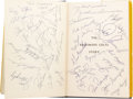 """Football Collectibles:Others, 1958 Baltimore Colts Team Signed Book. The victorious side in """"The Greatest Game Ever Played,"""" the 1958 NFL Championship. ..."""