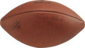 Football Collectibles:Uniforms, 1965 Rose Bowl Game Used Football. The Michigan Wolverines made things unpleasant for the Ohio State Buckeyes on New Year's ...