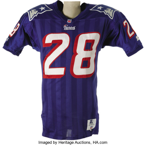 fb32267bf4d Curtis Martin hasquietly; Football Collectibles:Uniforms, 1995 Curtis Martin  Game Worn Rookie Jersey.