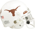 Football Collectibles:Helmets, 2005-06 Michael Huff Rose Bowl Game Worn Helmet. Not since the Alamo have the people of Texas been so proud of the performa...