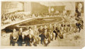 Autographs:Baseballs, 1901 Pittsburgh Pirates Reunion Team Signed Baseball with Chesbro& Oversized Photograph of Event. It was the Golden Annive...(Total: 2 )