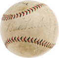 Autographs:Baseballs, 1928 New York Yankees Team Signed Baseball. Murderer's Row continued to slaughter the competition this season, yet again sw...