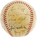 Autographs:Baseballs, 1935 Cincinnati Reds Team Signed Baseball. This ONL (Frick) ball isa real winner, even if the team was not. The Hall of F...