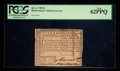 Colonial Notes:Rhode Island, Rhode Island July 2, 1780 $1 PCGS New 62PPQ.. ...