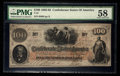 Confederate Notes:1862 Issues, T41 $100 1862. PF-22 Cr. 320A. . ...