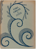 Books:Science Fiction & Fantasy, Algernon Blackwood. SIGNED/LIMITED. Full Circle. London: Elkin Mathews & Marrot, 1929. First edition, limited ...