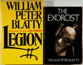 Books:Horror & Supernatural, William Peter Blatty. Group of Two Books, including: The Exorcist. New York: Harper & Row, [1971]. Book club edition... (Total: 2 Items)