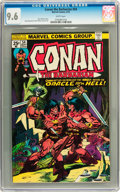 Bronze Age (1970-1979):Adventure, Conan the Barbarian #54 (Marvel, 1975) CGC NM+ 9.6 White pages....