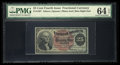 Fractional Currency:Fourth Issue, Fr. 1307 25¢ Fourth Issue PMG Choice Uncirculated 64 EPQ.. ...