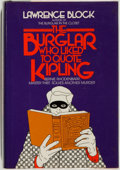 Books:Mystery & Detective Fiction, Lawrence Block. SIGNED. The Burglar Who Liked to QuoteKipling. New York: Random House, 1979. First edition. S...