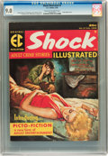 Magazines:Crime, Shock Illustrated #2 (EC, 1956) CGC VF/NM 9.0 Cream to off-whitepages....