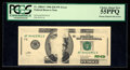 Error Notes:Missing Magnetic Ink, Fr. 2084-F $20 1996 Federal Reserve Note. PCGS Choice About New55PPQ.. ...