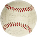 Autographs:Baseballs, 1963 Los Angeles Dodgers Team Signed Baseball. Something in theCalifornia sun definitely agreed with the Bums, who looked ...
