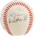 Autographs:Baseballs, 1967 St. Louis Cardinals Team Signed Baseball. The instrument ofthe Boston Red Sox' continued suffering, the '67 Cards got...