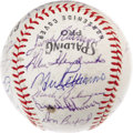 Autographs:Baseballs, 1970 Baltimore Orioles Team Signed Baseball. The Hall of FameRobinsons proved too much for the National League Championshi...