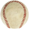 Autographs:Baseballs, 1977 New York Yankees Team Signed Baseball. Mention this team to any Yankees fan alive at the time and he'll instantly reca...