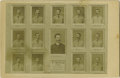Baseball Collectibles:Photos, 1886 New York Giants Cabinet Photograph by J. Wood, Type 1. Noother cabinet photograph on earth could possibly offer more ...