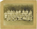 Baseball Collectibles:Photos, 1911 Pittsburgh Pirates Team Cabinet Photograph, Type 1. We areonly stating well-established fact when we point to the inc...