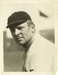"Baseball Collectibles:Photos, Circa 1912 John McGraw Photograph by Thompson, Type 1. ""With myteam I am an absolute czar,"" McGraw once said. ""My men know..."