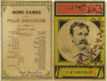 Baseball Collectibles:Programs, 1886 New York vs. Detroit Scorecard. The early baseball pioneer, Hall of Famer and owner of the National League's first bas...